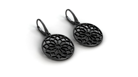 Earrings Chartres Black