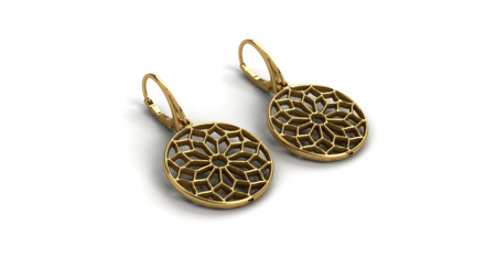 Earrings Chartres Gold