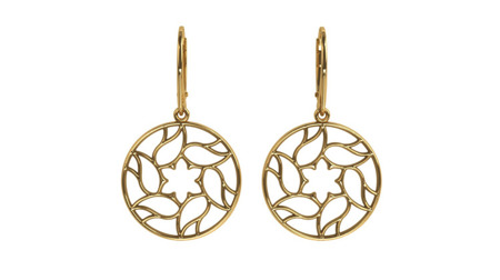 Earrings Milano Gold