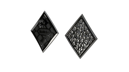 Earrings Vesuvio Black