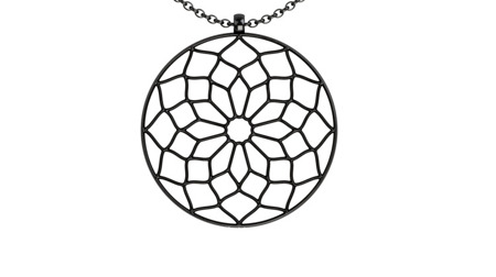 Necklace Chartres Black