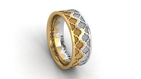 Ring Crown Gold