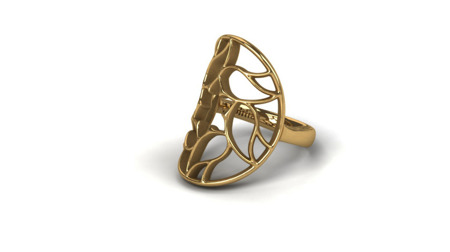 Ring Milano Gold