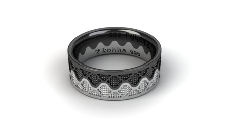 Ring Crown Black